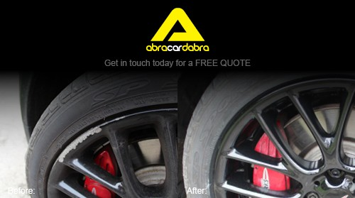 black alloy wheel repair leeds